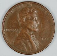 1929-D UNITED STATES LINCOLN WHEAT CENT / PENNY - EXTRA FINE  EXTRA FINE CONDITION