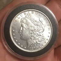 1879 P MORGAN SILVER DOLLAR UNCIRCULATED GREAT MINT LUSTER