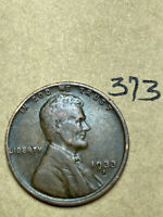1933-D LINCOLN WHEAT CENT,  CONDITION,  DATE, 373