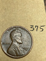 1933-D LINCOLN WHEAT CENT,  CONDITION,  DATE, 375