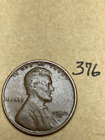 1933-D LINCOLN WHEAT CENT,  CONDITION,  DATE, 376