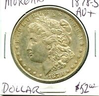 1878-S -  MORGAN SILVER DOLLAR -   COIN