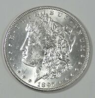 1897 MORGAN SILVER DOLLAR BRILLIANT UNCIRCULATED