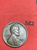 1933-D LINCOLN WHEAT CENT,  CONDITION,  DATE, 382