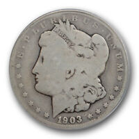 1903 O $1 MORGAN DOLLAR ICG AG 3 ABOUT GOOD NEW ORLEANS MINT LOW BALL COIN