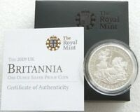 2009 ROYAL MINT BRITANNIA CHARIOT 2 TWO POUND SILVER PROOF 1