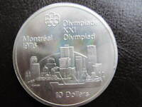 1976 MONTREAL OLYMPIC 5 DOLLAR COIN