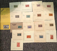 US MOSTLY 19TH CENTURY MINT ISSUES WITH COLUMBIANS NH TO $5