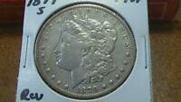 1879 S MORGAN SILVER DOLLAR REVERSE 1878 CIRCULATED SEE PICS TOP 100