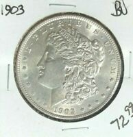 1903-P MORGAN SILVER DOLLAR  BU  COIN