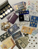 SILVER PROOF AND MINT SET COIN LOT