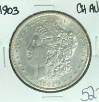 1903-P MORGAN SILVER DOLLAR  CH/AU  COIN