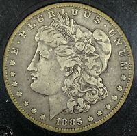 1885-O UNITED STATES SILVER MORGAN DOLLAR - VG