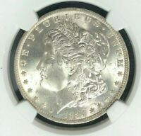 1884-O MORGAN SILVER DOLLAR  NGC MINT STATE 63 BEAUTIFUL COIN REF18-037