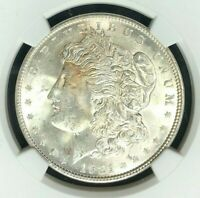 1921 MORGAN SILVER DOLLAR  NGC MINT STATE 63 BEAUTIFUL COIN REF83-029