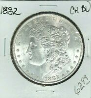 1882 MORGAN SILVER DOLLAR  CH/BU  COIN