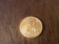 2021 GOLD EAGLE 1/2 OZ GOLD WORKING HARD FOR MY MONEY