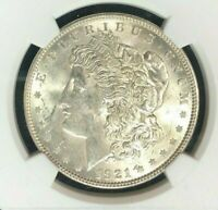 1921 VAM 27A NGC MINT STATE 61 MORGAN SILVER DOLLARGENE L HENRY LEGACY COLLECTION 063