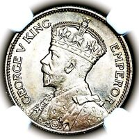 1935 KING GEORGE V NEW ZEALAND SILVER ONE SHILLING 1S KM 3 N