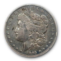 1895 O $1 MORGAN DOLLAR ANACS F 12 FINE NEW ORLEANS MINT KEY DATE TOUGH