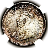 1936 KING GEORGE V SOUTH AFRICA SLIVER SIXPENCE SIX PENCE 6D