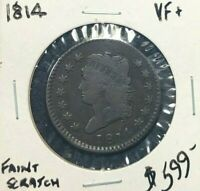 1814 CLASSIC HEAD ONE CENT