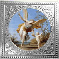 THE GUARDIAN ANGELS   MARCANTONIO FRANCESCHINI PROOF SILVER