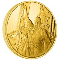 NIUE ISLANDS 25 $   1/4 OZ GOLD HARRY POTTER LORD VOLDEMORT