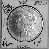 1893 O MORGAN SILVER DOLLAR HIGH GRADE  U.S. COIN SHIPS FREE 125402