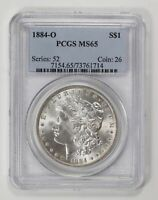MORGAN SILVER DOLLAR 1884 O PCGS MINT STATE 65
