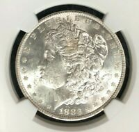 1883-O VAM 36A NGC MINT STATE 61 MORGAN SILVER DOLLARGENE L HENRY LEGACY COLLECTION 003