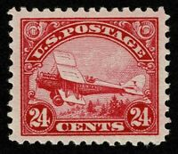 SCOTTC6 24C BACK OF BOOK AIR MAIL 1923 MINT LH OG WELL CENTE