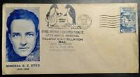 FIRST DAY COVER FDC   ADMIRAL BYRD LITTLE AMERICA 2ND ANTARC