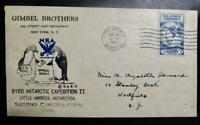 FIRST DAY COVER FDC   GIMBLE BROTHERS BYRD ANTARCTIC EXPEDIT