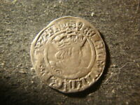 1526 1544 GREAT BRITAIN HENRY VIII SILVER HALF GROAT  TWO PENCE DTZ