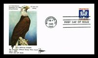 DR JIM STAMPS US OFFICIAL MAIL LETTER RATE D GILL CRAFT UNSE