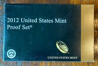 2012 UNITED STATES MINT PROOF COIN SET   14 COINS IN ORIGINA