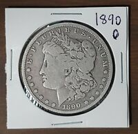 1890-O $1 MORGAN SILVER DOLLAR NEW ORLEANS MINT FINE DETAILS CIRCULATED 51921A