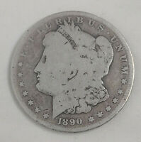 1890-O $1 MORGAN SILVER DOLLAR US CURRENCY  OLD NEW ORLEANS MINT COIN 40921B