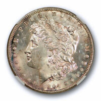 1894 S $1 MORGAN DOLLAR NGC MINT STATE 64 UNCIRCULATED EXCEPTIONAL STRIKE TONED TOUGH