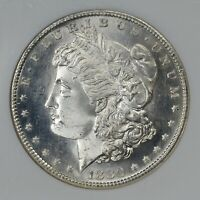 1880-S  NGC  MINT STATE 65  MORGAN DOLLAR    PROOF-LIKE OBVERSE  1757503-009