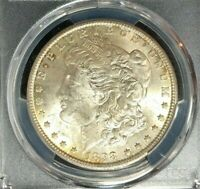 1898-O MORGAN SILVER DOLLAR  PCGS MINT STATE 62 BEAUTIFUL COIN REF9847