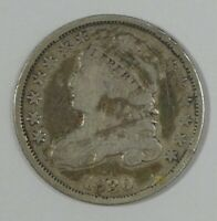 1830 CAPPED BUST DIME  GOOD SILVER 10-CENTS