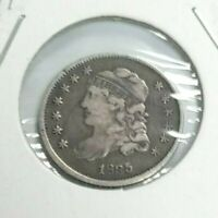 1835 CAPPED BUST HALF DIME NGC VF 1/2 10C COIN L409
