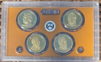2011 S UNITED STATES MINT PRESIDENTIAL DOLLAR COIN SET   4 C