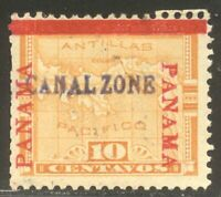 CANAL ZONE 3  MINT   1904 10C YELLOW  $400