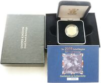 2004 ROYAL MINT ST GEORGE AND THE DRAGON GOLD PROOF FULL SOV