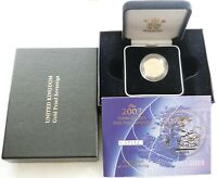 2003 ROYAL MINT ST GEORGE AND THE DRAGON GOLD PROOF FULL SOV