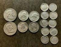 LOT: $3.00 FACE VALUE US 90  SILVER COINS