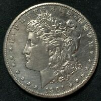 1901-O SILVER MORGAN DOLLAR NEW ORLEANS MINT AU CONDITION CLEANED